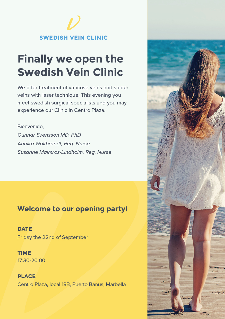 Swedish Vein Clinic _Centro Plaza Marbella