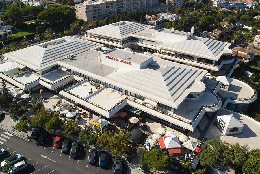 Vista Aerea de Centro Plaza Marbella