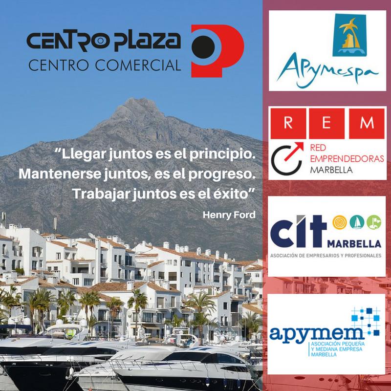 Centro Comercial Centro Plaza, nuevo socio de Apymespa, Apymem y REM